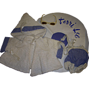 Vintage Tagged Terri Lee Swimming Set