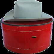 "Vintage WESTERN Cowboy Hat, 3X BEAVER, Resistol, ""Wichita"" Size 6-3/4"