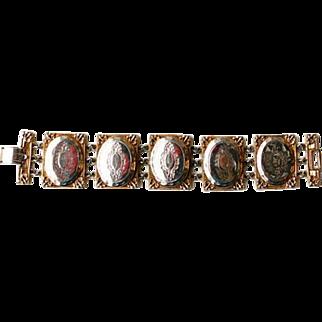 Hattie Carnegie Locket Bracelet