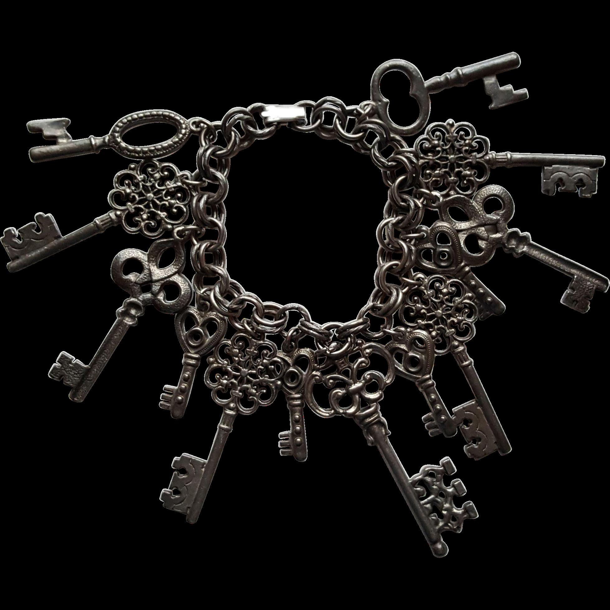 Skeleton Keys Bracelet