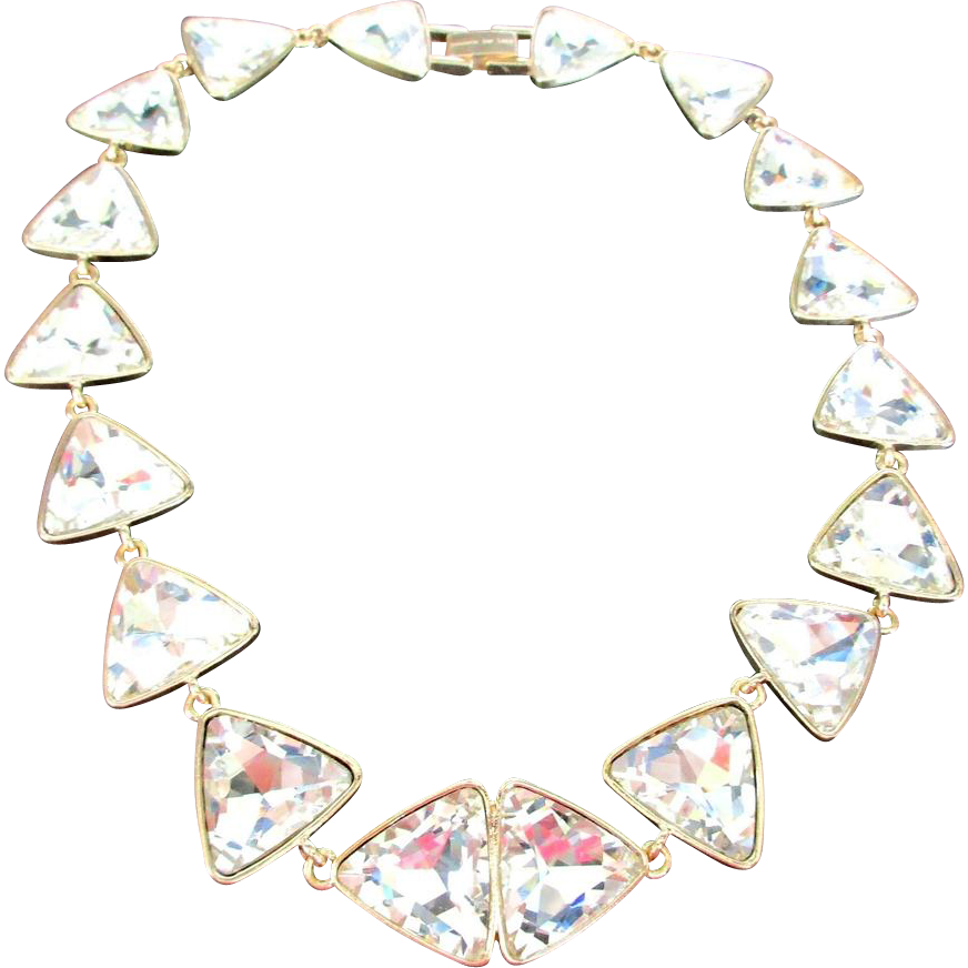 Vintage Kenneth Lane Rhinestone Necklace