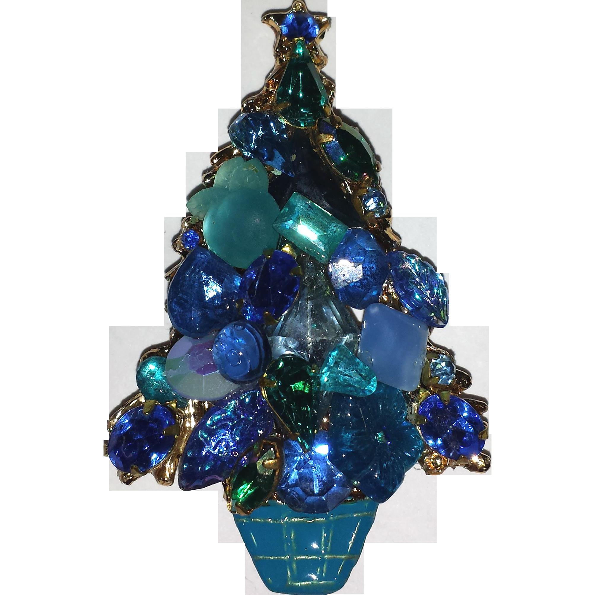 BeeGee Christmas Tree Pin