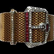 Victorian Mesh Buckle Bracelet