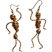 Egyptian Mummy  Earrings