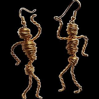 Egyptian Mummy  Earrings