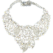 Runway Ready Rhinestone & Aurora Borealis Necklace