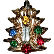 Vintage Christmas Tree Ring