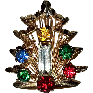 Vintage Christmas Tree Ring