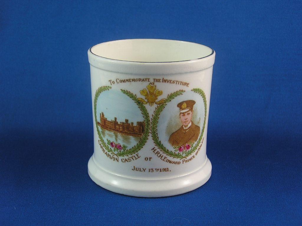 Fabulous Vintage HRH Prince Edward of Wales Investiture Mug - Rare! RESERVED FOR AM