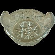 Dingwall Clapperton Gundy Brilliant Glass Butter Tub