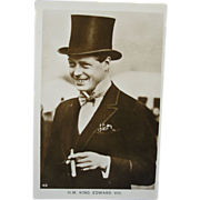 Royalty Real Photo Postcard - H.M. King Edward VIII