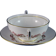 Minton Laurentian (Gold) Cream Soup Bowl and Underplate