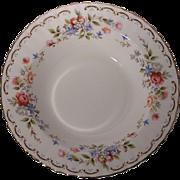 Royal Albert (England) Jubilee Rose - Rimmed Soup Bowl