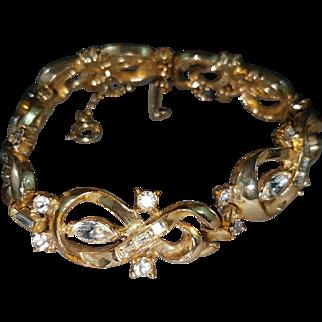 Elegant Coro Rhinestone Bracelet