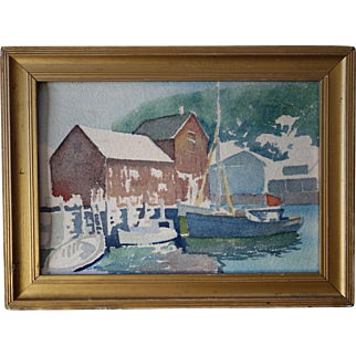 Robert Atwood Gloucester Boat Harbor WC
