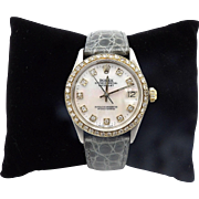 Vintage Rolex Ladies Datejust Wristwatch