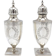 Barbour Silver Company Sterling Silver Salt and Pepper Shakers