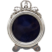 Victorian-era Sterling Silver Picture Frame from Iran