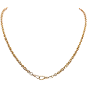 Victorian 12K Rose Gold Chain