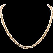 Victorian 12K Rose Gold Chain