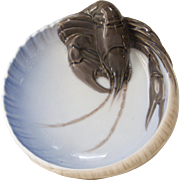 Royal Copenhagen Lobster Dish, circa 1900