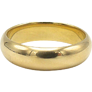 Shreve & Co. 18kt Gold Ring or Band circa 1910