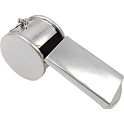 Sterling Silver Blowing Whistle
