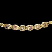 Vintage Souvenir Bracelet from France