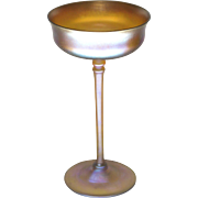 Louis Comfort Tiffany Favrile Glass Compote