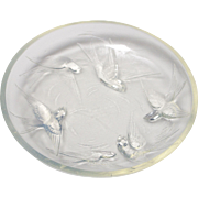 Sabino Opalescent Glass Swallow Ring Dish