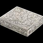 Italian Silver Compact