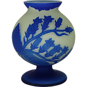 Richard (Loetz) Glass Cameo Vase circa 1920