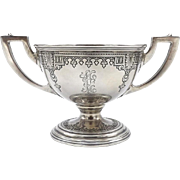 Lebkuecher Sterling Silver Footed Sugar Bowl