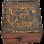 Fantastic Rare Klinger Pocket Globe in Box, circa 1840