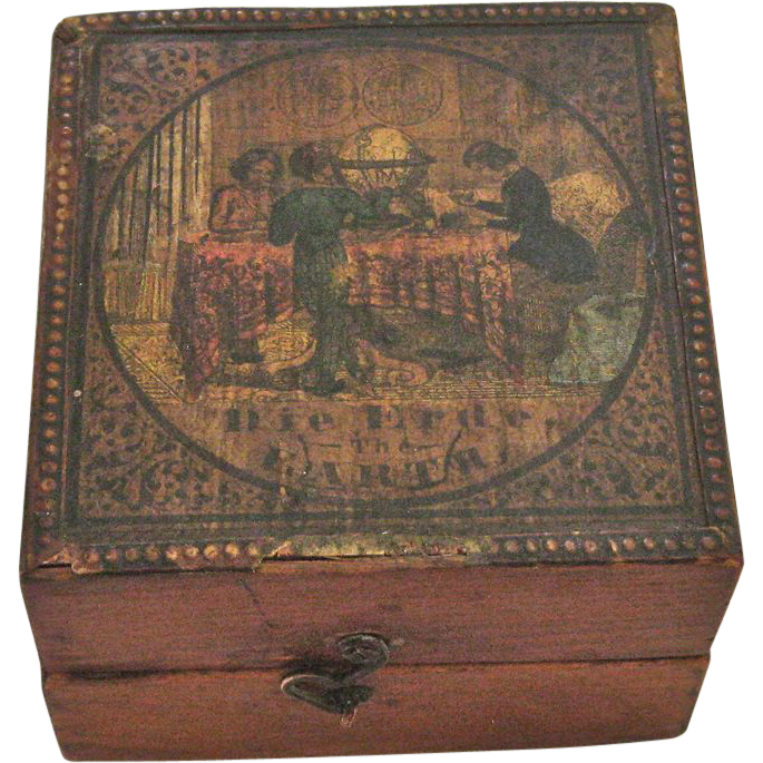 Fantastic Rare Klinger Pocket Globe in Box, circa 1840