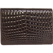 Vintage Aligator Wallet