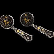 Vintage Amita Silver Earrings from Japan