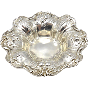Set of Four Reed & Barton 'Francis I' Sterling Silver Repoussé Sterling Silver Nut Dishes