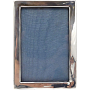 Antique Sterling Silver Picture Frame