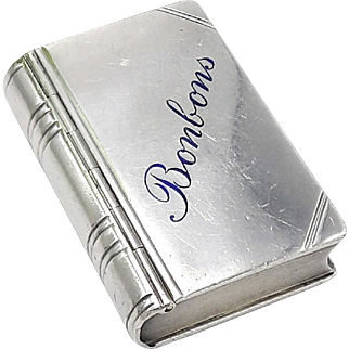 Antique Austrian Silver Pill Box