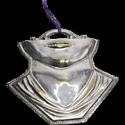 1940's Rare Italian Silver Plated Brass Milagro