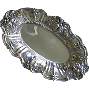 Reed & Barton Sterling Silver Oval Bread Tray in the Francis I Pattern