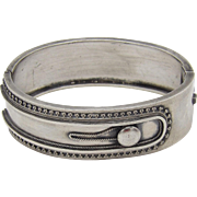 Sterling Silver Victorian Cuff Bracelet