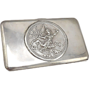 Thai Sterling Silver Case with Mekhala, Goddess of Lightning