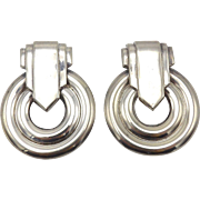 Silver Statement Earrings by Carlotta Bijoux
