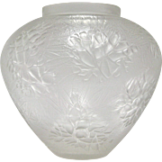 R. Lalique Esterel Glass Vase, circa 1920s