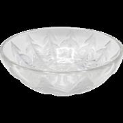 Lalique Pissenlit Dandelion Frosted Glass Bowl