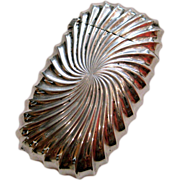 A Shiebler Sterling Silver & Swirling Gilt Match Safe