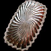 A Shiebler Sterling Silver & Swirling Gilt Match Safe
