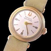 Bulova Accutron 14 K Gold Ladies Watch - COLLECTOR'S ITEM, circa 1971